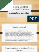 Motion Control Feedback Device
