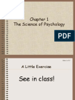 1-1 Chapter 1 Science of Psychology