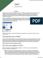 Lição 2_ o Que é Html_ - HTML
