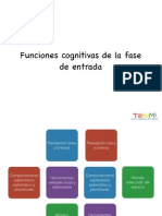 Funciones Cognitivas de La Fase de Entrada