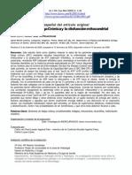 SFC y Disfuncion Mitocondrial.validacion Espanol.myhill Et Al