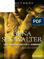 3 L'Emeraude Des Tenebres- Les Seigneurs de L'Ombre - Gena Showalter