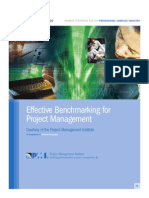 Benchmarking Project Management
