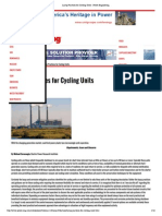Layup Practices for Cycling Units - Power Engineering