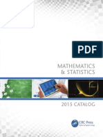 CRC Press Math Catalogue