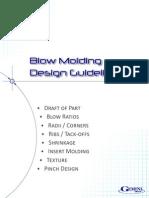Guia para diseño de moldes de Soplado
