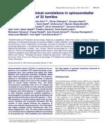 Molecular and Clinical Correlations in Spinocerebellar Ataxia 2