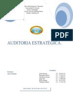 Trabajo de Auditoria Estratégica.