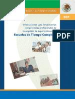 Orientaciones Para Fortalecer Las Competencias Profesionales de Los Equipos de Supervisión en Etc