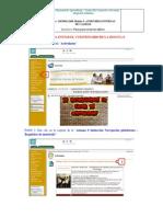 Pasos para enviar los talleres del curso Auditoría