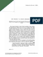 José Pellicer y la Crónica Mozárabe de 754