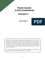 Theorie Generale Du Droit Constitutionnel
