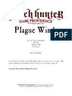 Plague Winds adventure for Witch Hunter rpg