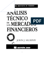 Análisis Técnico de Los Mercados Financieros JJ MURPHY