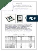 Lista de Microprocesadores