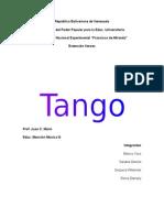 Tango Ensayo