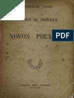 Vinicius de Moraes Novos Poemas I