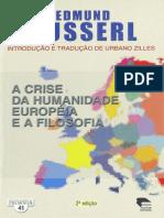 A Crise Da Humanidade Européia e a Filosofia - Husserl