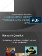 Evidence-Based Obesity & Resistance Exercise Presentation