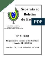 RISG R-1, Forças Armadas.DOC