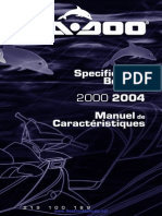 Seadoo 2000 2004 Specifications