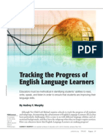 Tracking the Progress of ELLs