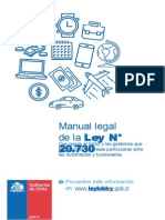 Manual Legal Ley Nº 20730