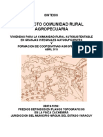 Proyecto Comunidad Rural Agropecuaria