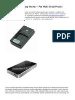 12 Volt Batteria Jump Starter - Per Molti Scopi Pratici