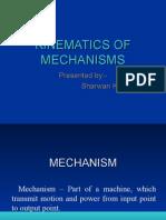 kinematic of mechanisms