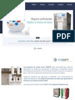 Catalogo Máquinas ICESOFT - 2015 (1)