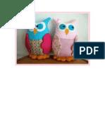 corujas decorativas