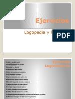 ejercicios de foniatría y logopedia