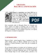 Apuntes sobre la Catedral de Granada