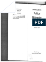Wolff - An Introduction to Political Philosophy