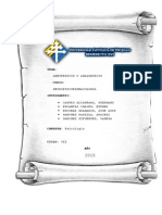 Anastesicos y Analgesicos-Informe