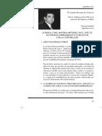 La renta como materia imponible en el caso de actividades empresariales y su relación con la contabilidad.