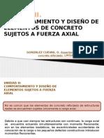 03CR Compresión Axial