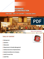 05. Quality Assurance in Project Construction - Chairil Zakky