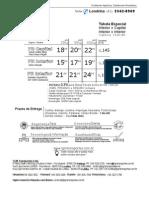 Tabela TGM LDA 150106