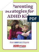 13 ParentingStrategies ADHD