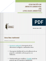Linea Base Ambiental en EIA
