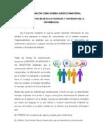 1.-La Informacion Como Un Bien Juridico Inmaterial (comentario)