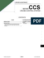 CCS Cruise Control