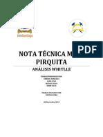Nota Tecnica Whittle Pirquita