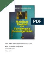 (Rumusan) Hakikat Tauhid & Fenomena Kemusyrikan_Al-Allamah Dr. Yusuf Al-Qardawi