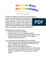 Create Your Own Curriculum PDF