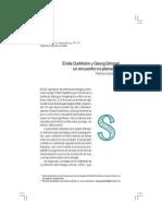 Paper - Durkheim y Simmel