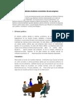 Factores Externos y Internos De una empresa
