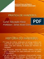 Prática de Handebol